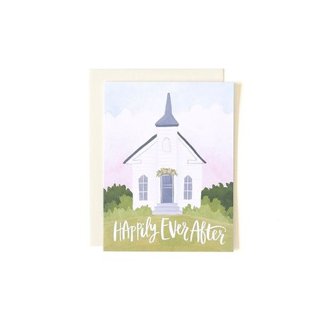Wedding Chapel Card