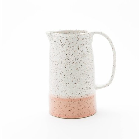 Dipped Speckled Jug -Assorted Colours