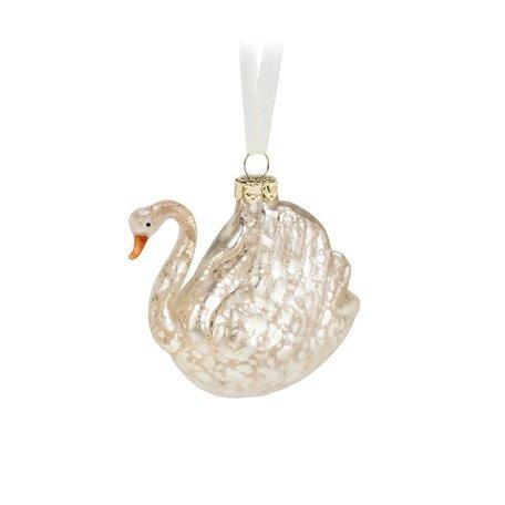 White Swan Ornament