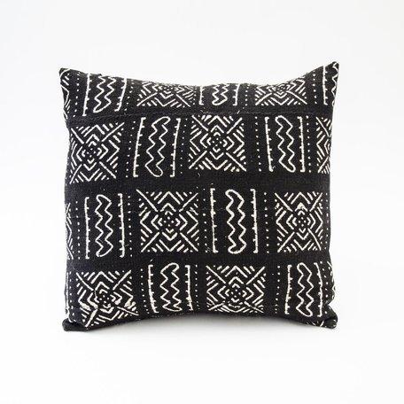 Black Mudcloth Cushion -Range