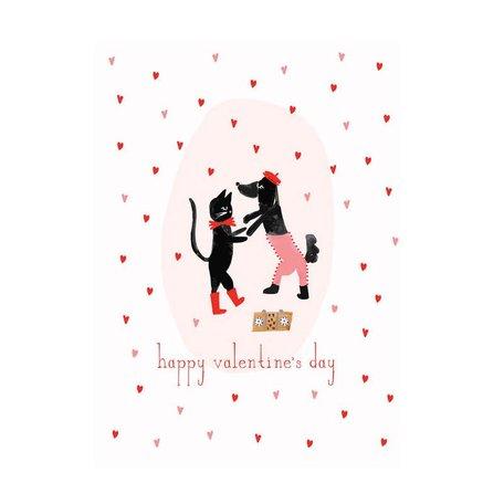 Cha Cha Valentine Card