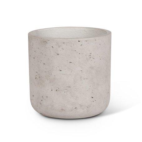 Concrete Planter -Med/Grey