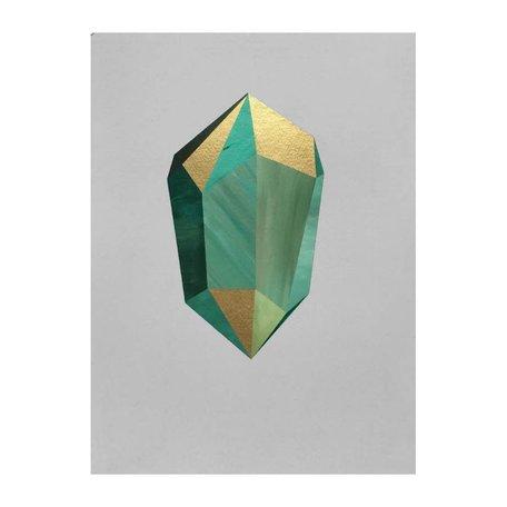 """""""Forest Walk Crystal"""" 11x14"""