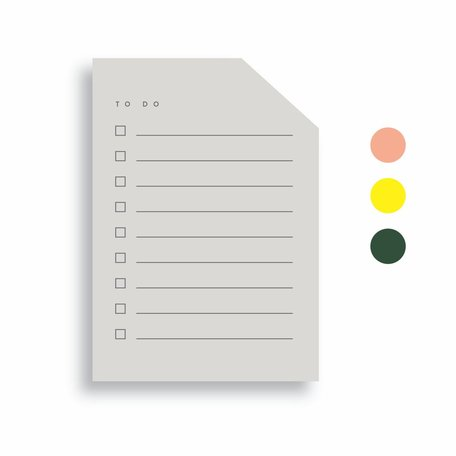 Colourblock Pad -Small B
