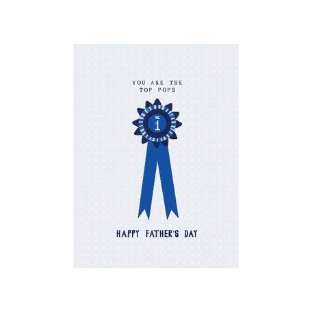 Numero Uno Father's Day Card