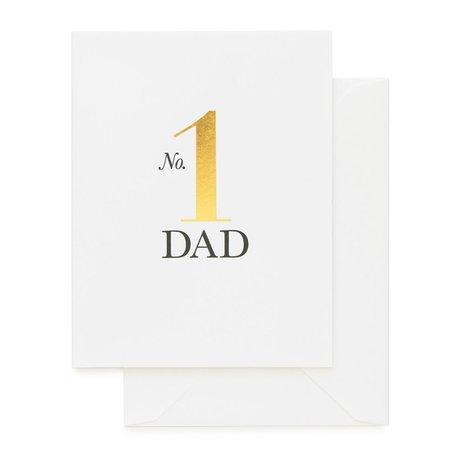 No. 1 Dad Card
