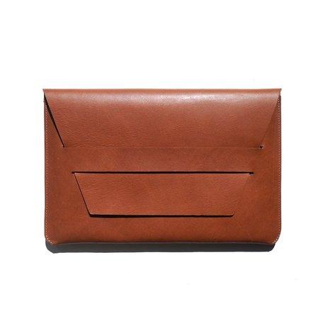 "Portfolio Laptop Case -Caramel 14x9"""