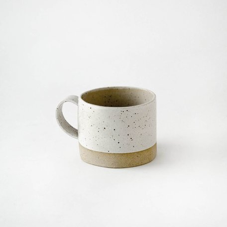 Wide Mug -White