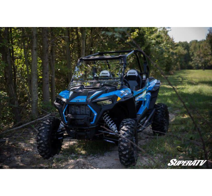 Polaris Scratch Resistant Flip Windshield
