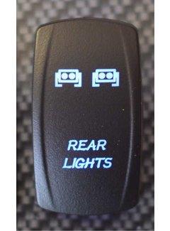 WLO - Rocker Switch / 5 -  Rear Lights  - Blue