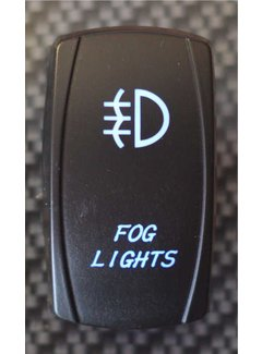 WLO - Rocker Switch / 5 - Fog Light - Blue