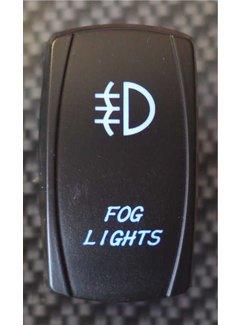 WLO - Rocker Switch / 5 - Fog Light - Blue