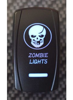 WLO - Switch / 5 -  Zombie Skull  - Blue