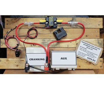 Programable Dual Battery Automatic Charging Relay Kit