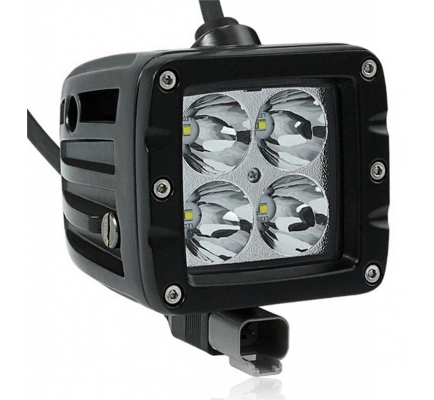 "WLO 40 Watt Cree - 2"" LED Light Pod - Flood (Each)"