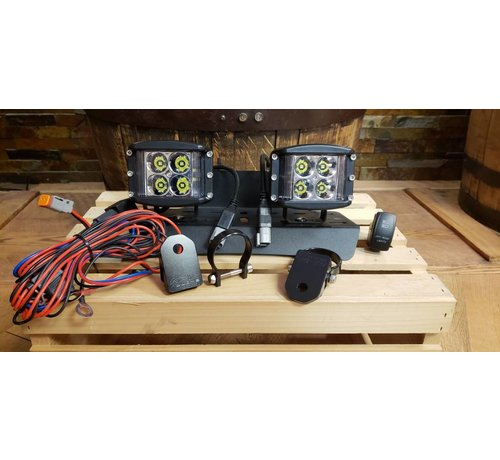 40 Watt Side Shooter LED Pod Light (Full Kit)