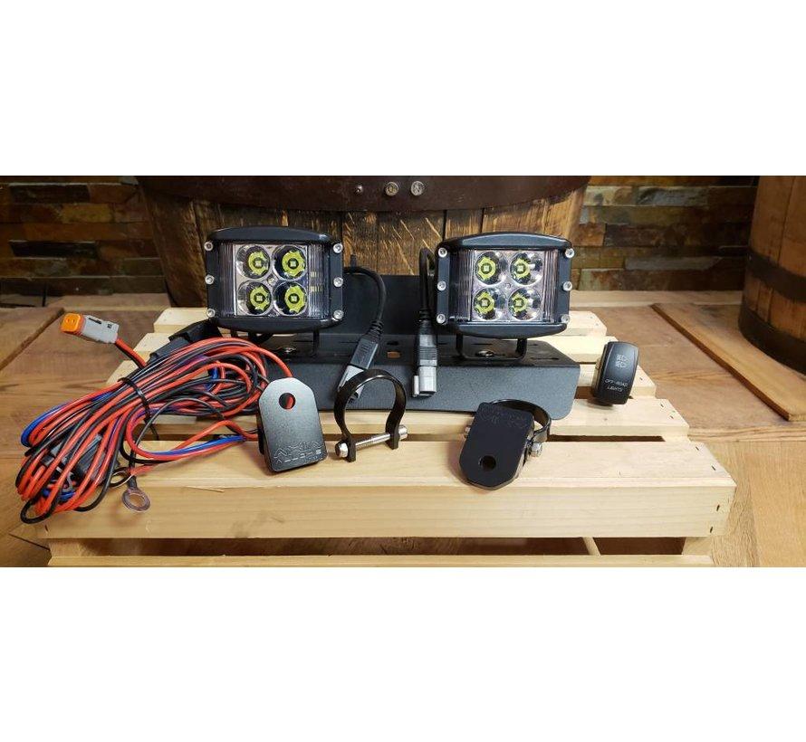 40 Watt Side Shooter LED Pod Light (Full Kit)