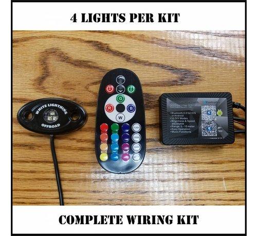Rock Light - RGBW ~ Bluetooth Controller