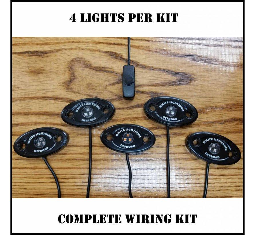 Rock Light Kit - Single Color