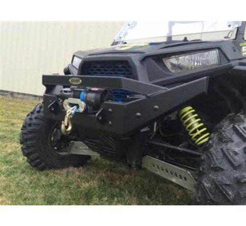 Extreme  Metal Products (EMP) RZR NITRO Front Bumper / Brush Guard with Winch Mount (XP1K, 2015-18 RZR 900 and 2016-18 RZR 1000-S)