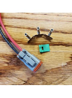 TE Connectivity Deutsch - DT06-02 Sealed Male Connector (w/ terminals)