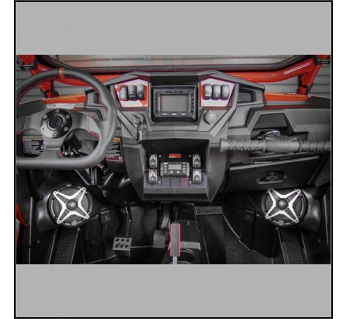 SSV Works - RZR Front Speaker Pods Unloaded (Pair)