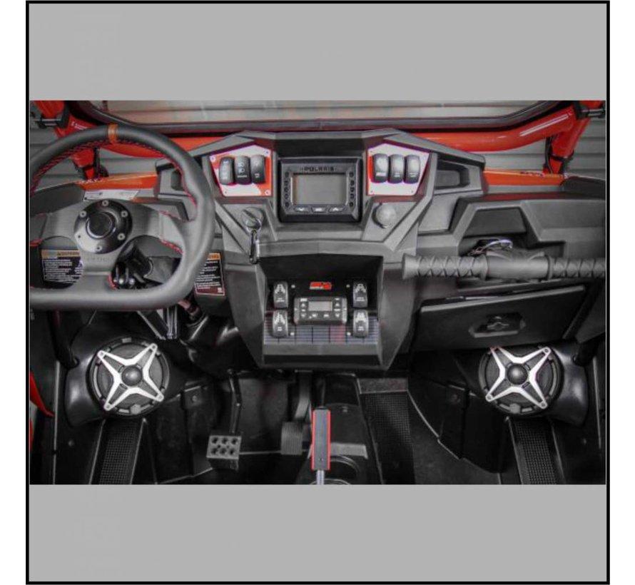 - RZR Front Speaker Pods Unloaded (Pair)