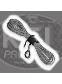 "KFI Winch Synthetic Winch Cable - Smoke Gray - 3/16"" x 50'"