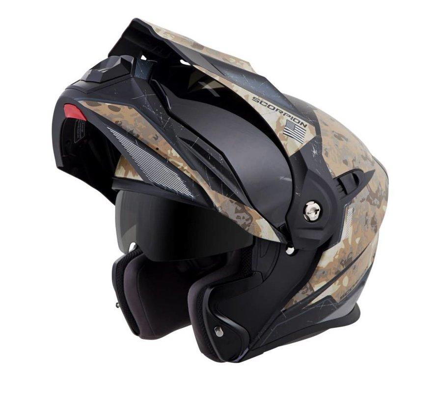 Scorpion Sports - XO-AT950 Modular Battlefield Helmet Sand - Large