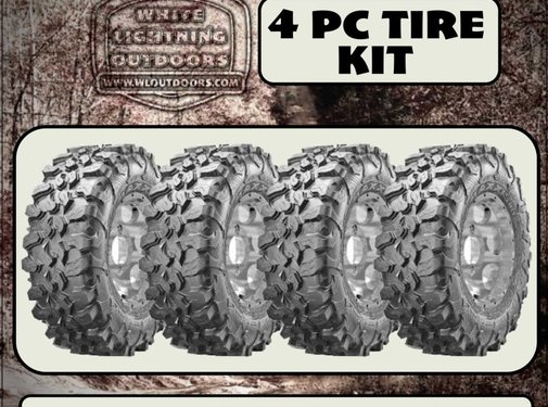 Maxxis CARNIVORE 32x10-14  - 8 Ply (4 Tires - Shipped)