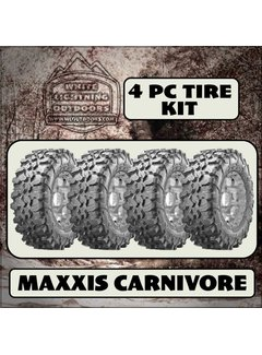 Maxxis CARNIVORE 28x10-14  - 8 Ply (4 Tires - Shipped)