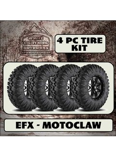 EFX MotoClaw 28x10-14R (4 Tires - Shipped)