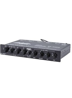 Wet Sounds WS-420 SQ - Marine Multi Zone 4 Band Parametric Equalizer