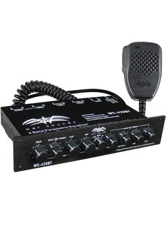 Wet Sounds WS-420BT - Marine Multi Zone Equalizer with Integrated Bluetooth
