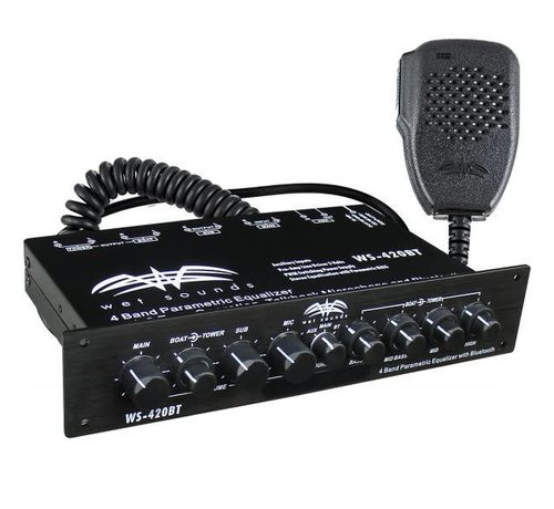 Wet Sounds Wet Sounds - Marine Multi Zone Equalizer with Integrated Bluetooth