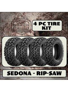 Sedona Rip Saw RT 28x10x14 (4 Tires - Shipped)