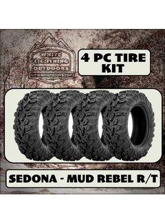 Sedona Mud Rebel R/T 28x10Rx14 (4 Tires - Shipped)