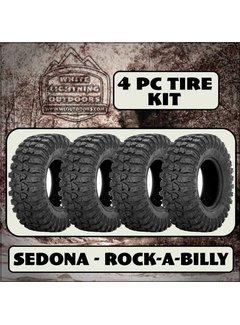 Sedona Rock-A-Billy 32 x10x14 (4 Tires - Shipped)