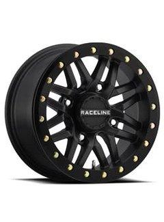 Raceline Ryno Beadlock - Black 14x7 4/156 5+2