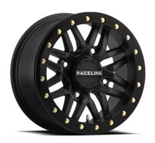 Raceline Raceline - Ryno Beadlock - Black 15x7 4/137 5+2