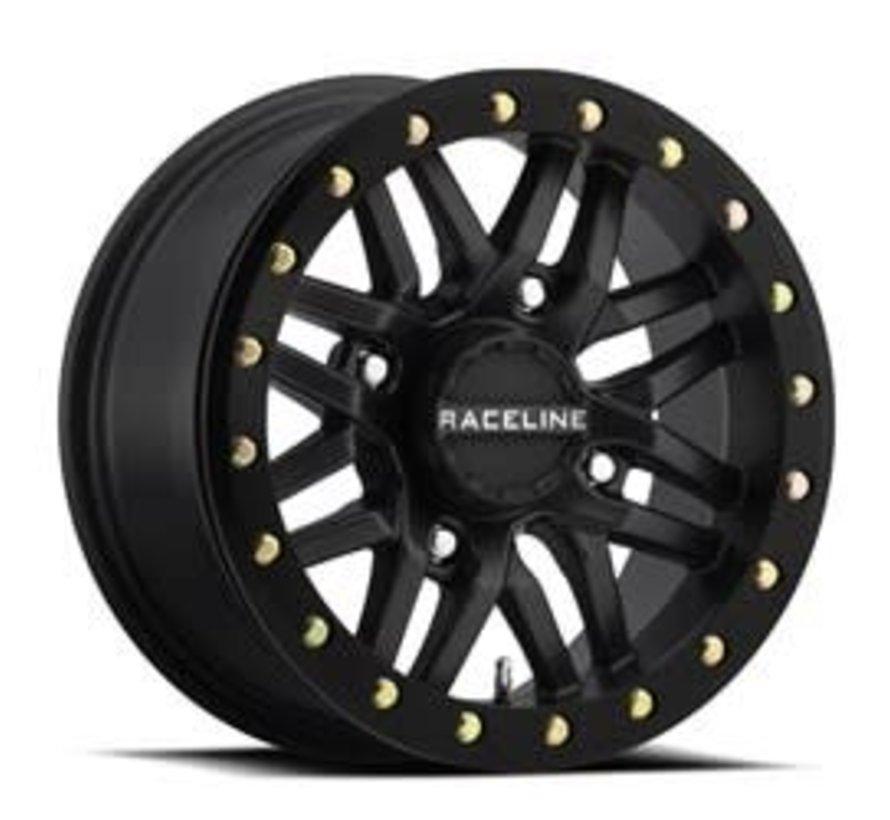 Raceline - Ryno Beadlock - Black 15x7 4/137 5+2