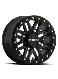 Raceline Ryno Beadlock - Black 15x7 4/156 5+2