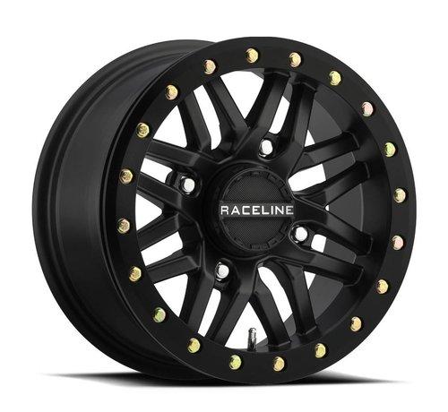 Raceline Raceline - Ryno Beadlock - Black 15x7 4/156 5+2