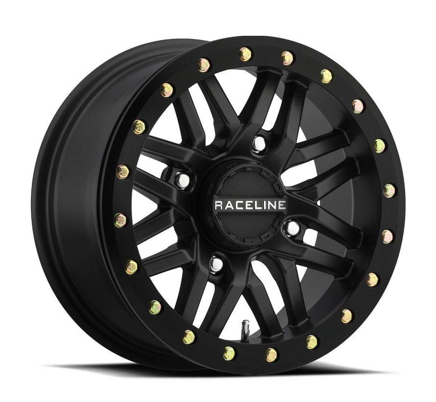 Raceline - Ryno Beadlock - Black 15x7 4/156 5+2