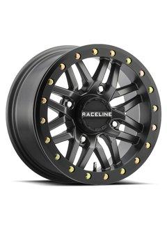 Raceline Ryno Beadlock - Gun Metal  15x7 4/137 5+2
