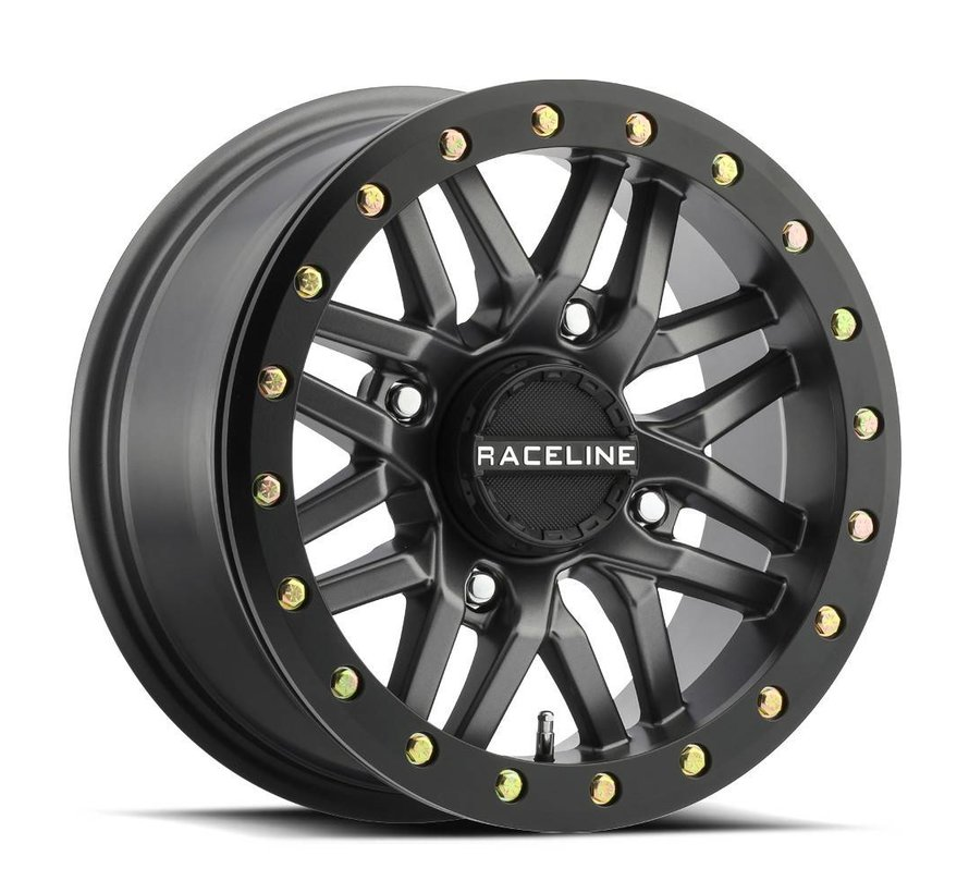 Raceline - Ryno Beadlock - Gun Metal  15x7 4/137 5+2