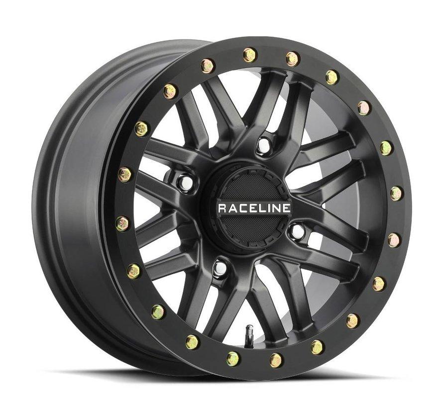 Raceline - Ryno Beadlock - Gun Metal  15x7 4/156 5+2