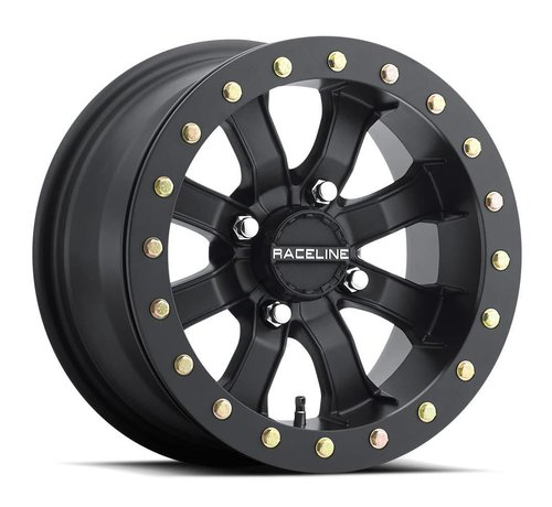 Raceline Raceline - Mamba Blackout Beadlock 14x7 4/137 6+1