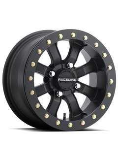 Raceline Mamba Blackout Beadlock  15x7 4/137 +0mm