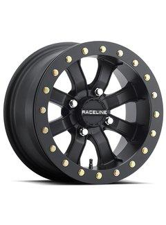 Raceline Mamba Blackout Beadlock  15x7 4/137 +0mm